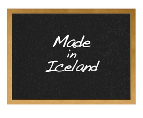 Made in Iceland.