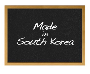 Made in South Korea.