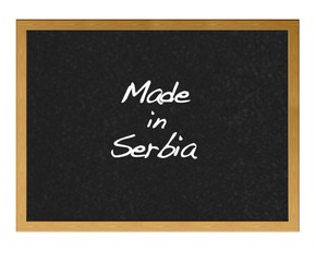 Made in Serbia.