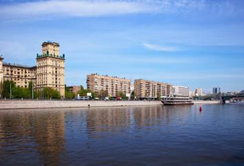 View of Moscow. Berezhkovskaya embankment