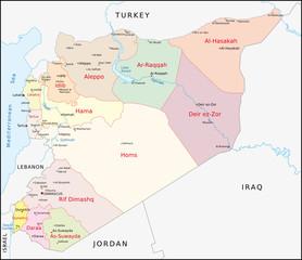Syrien Administrativ