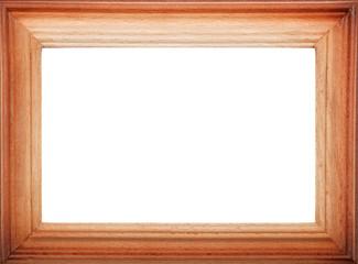 Wooden frame.