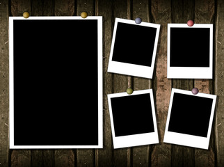 5 poloraid frames