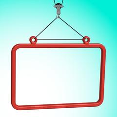 frame hanged