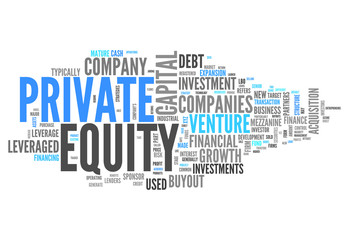 """Word Cloud """"Private Equity"""""""