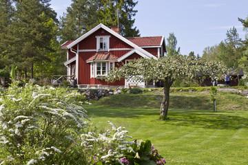 Idyllic summer house in Sweden.