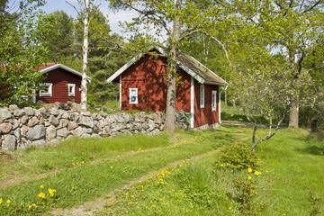 Idyllic cottage in Sweden.