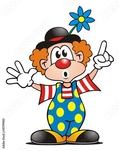 Clown With Board Stockfotos Und Lizenzfreie Bilder Auf Fotolia Com