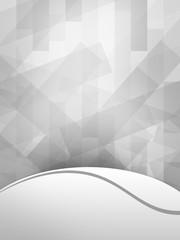 Gray background Leela wave
