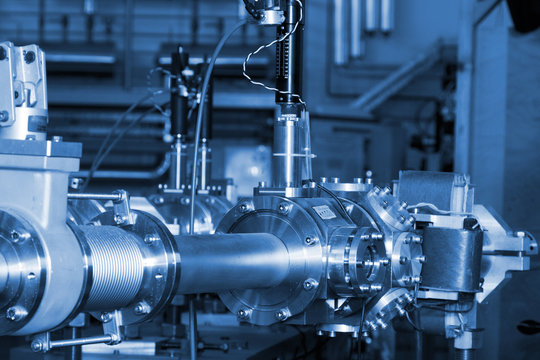Important parts of ION accelerator