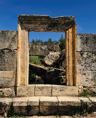 Antic theater at Hierapolis , Turkey