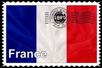 Briefmarke - Quality France