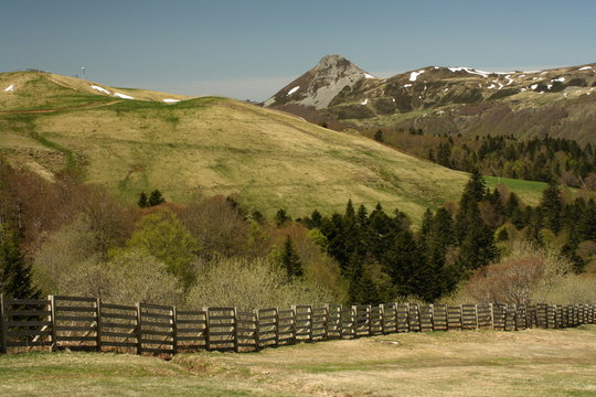 Puy Griou in Monts du Cantal
