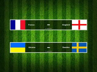 Match Day - 11 June 2012 ,euro 2012 ,Grass Background