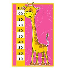 Giraffe scale