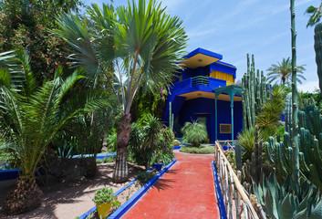 Garten von Majorelle, Marrakesh, Marokko