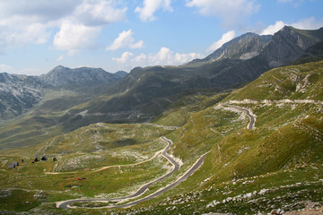 National park Durmitor in Montenegro
