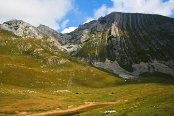 National park Durmitor in Montenegro