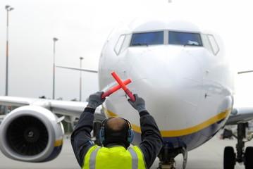 Abfertigung Flughafen