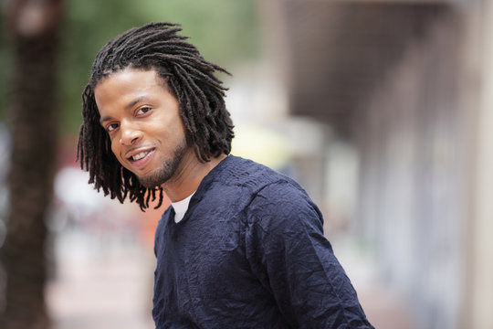 Black Male With Dreads Photos Royalty Free Images Graphics Vectors Videos Adobe Stock