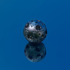 Alloy ball