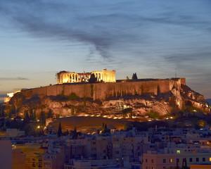 Acropolis  illuminated, Athens Greece