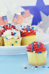 Patriotic Cupcakes 2