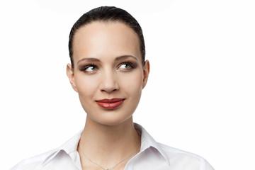 Pretty business woman portrait