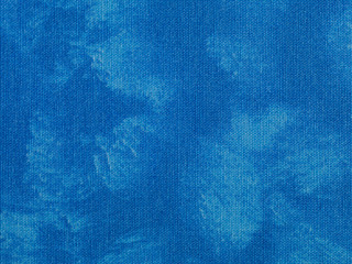 Abstract blue texture textile fabric