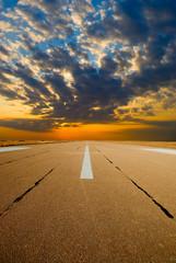 Spare the runway on sunrise