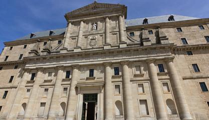 Royal Monastery facade