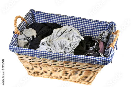 panier de linge sale photo libre de droits sur la banque d 39 images image 41915798. Black Bedroom Furniture Sets. Home Design Ideas