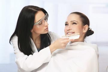 image of female patient