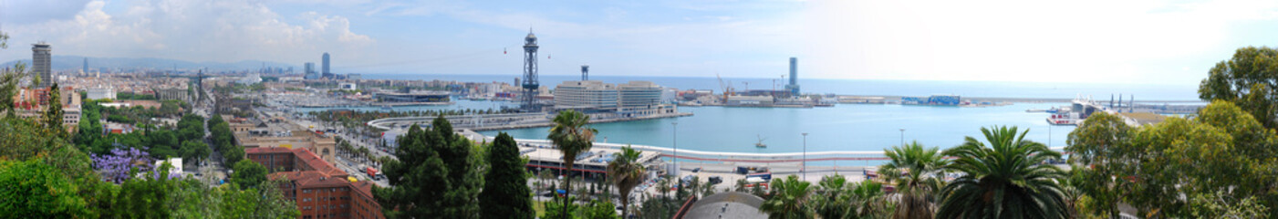 Panorama  Barcelona 1