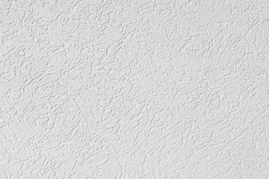 Fragment of white plastered walls