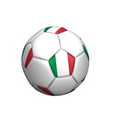 balón bandera italiana