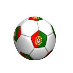 balón bandera portugal