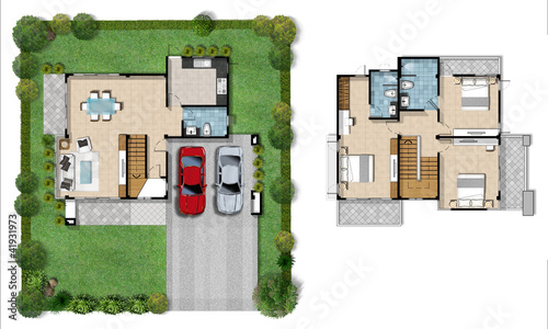 house plan presentation stock photo and royalty free images on