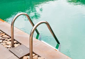 Beautiful swimming pool.