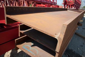 iron girder stack