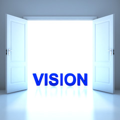 Vision word conceptual in the future