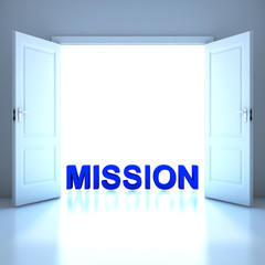 Mission word conceptual in the future