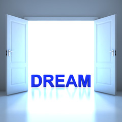 Dream word conceptual in the future