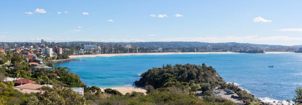 Manly Beach Australia - Panoramic