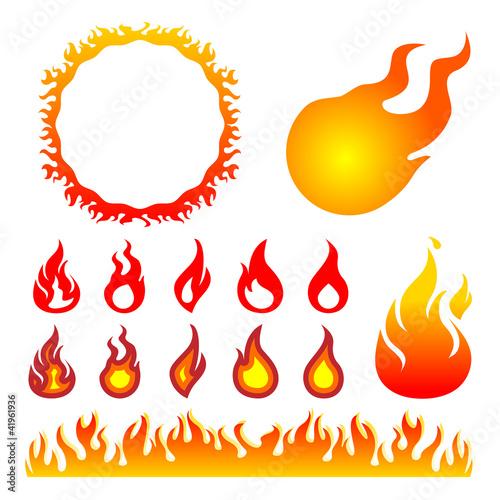 火 炎 イラストfotoliacom の ストック画像とロイヤリティフリーの