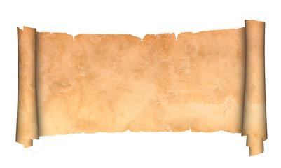 Antique scroll.