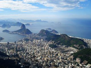 La baie de Rio, le Pain de Sucre et Copacabana - Brésil