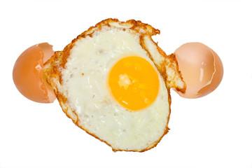 egg roasted