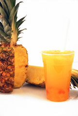 Ananas Bubble Tea Drink