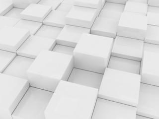 gray cubes